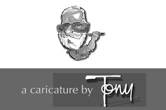 Haze Music - Caricature Artist Tony Bramwell