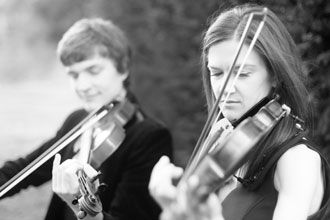 Haze Music violin duo Evergreen